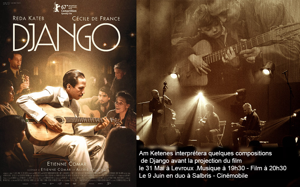 Film DJANGO Am ketenes